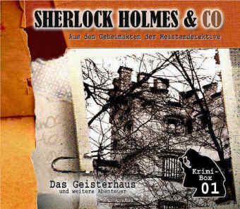 Sherlock-Holmes-Das-Geisterhaus-u-a-Audio-CD